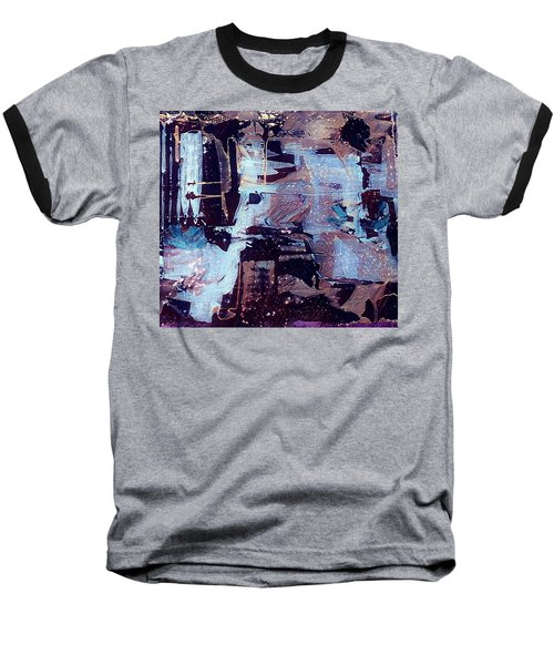 Baseball T-Shirt featuring the painting Untitled by 'REA' Gallery