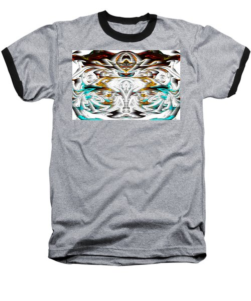 Baseball T-Shirt featuring the digital art Untitled Series 992.042212 by Kris Haas