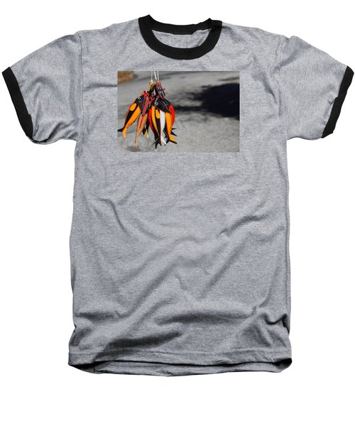 Baseball T-Shirt featuring the photograph Unusual Catch by Richard Patmore