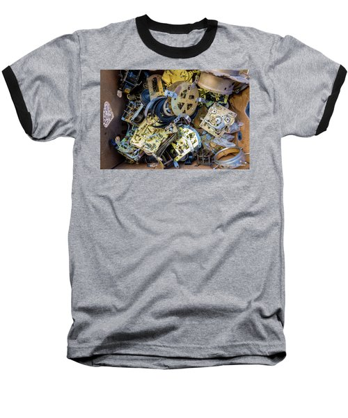 Baseball T-Shirt featuring the photograph Unwinding by Christopher Holmes
