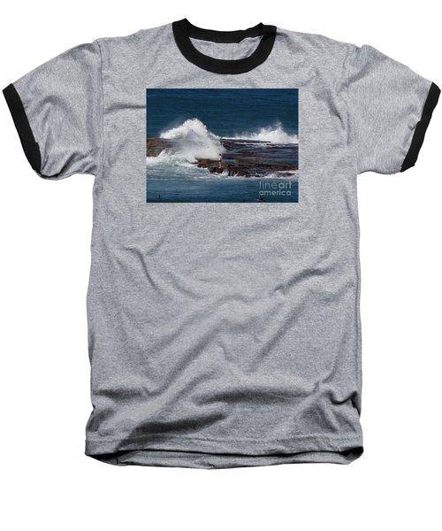Unwitting Swimmer Baseball T-Shirt