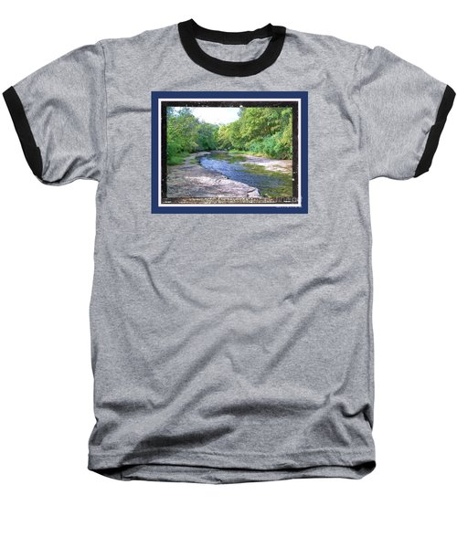 Baseball T-Shirt featuring the photograph Up A Creek by Shirley Moravec