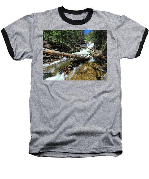 Up A Log Baseball T-Shirt