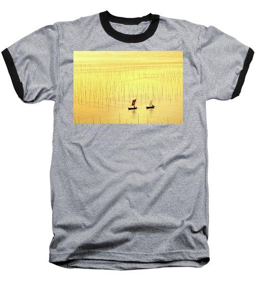 Up At Dawn. Baseball T-Shirt