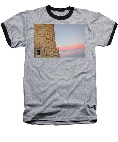 Close-up Detail Of The Cape Moreton Lighthouse Baseball T-Shirt