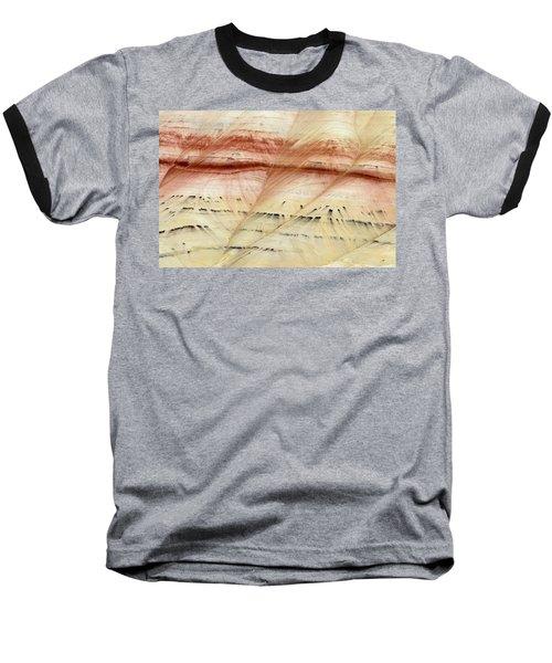 Up Close Painted Hills Baseball T-Shirt by Greg Nyquist