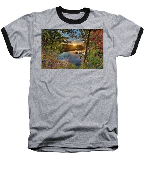 Up Early For The Start Of Fall Color... Baseball T-Shirt