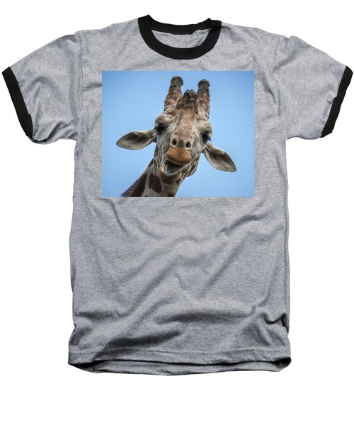 Up Here Baseball T-Shirt by Tyson Smith