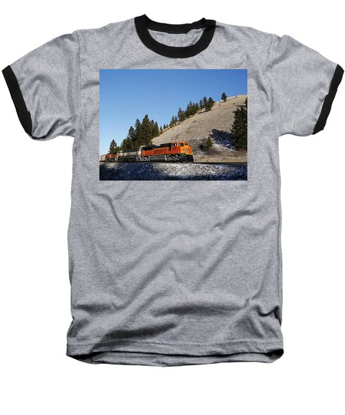 Up Hill And Into The Sun Baseball T-Shirt