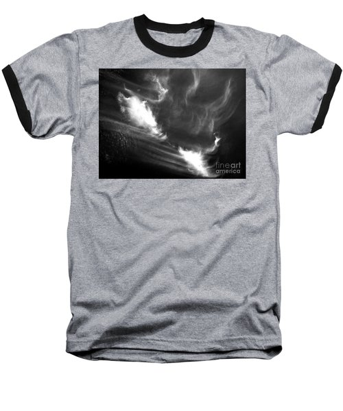 Up In The Clouds Baseball T-Shirt