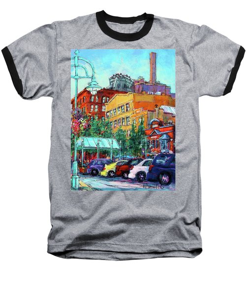 Up On Broadway Baseball T-Shirt