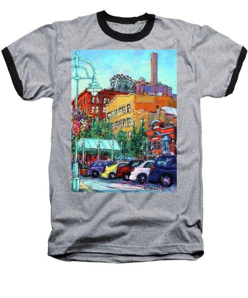 Up On Broadway Baseball T-Shirt