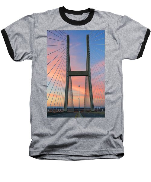 Up On The Bridge Baseball T-Shirt
