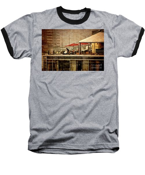 Baseball T-Shirt featuring the photograph Up On The Roof - Miraflores Peru by Mary Machare