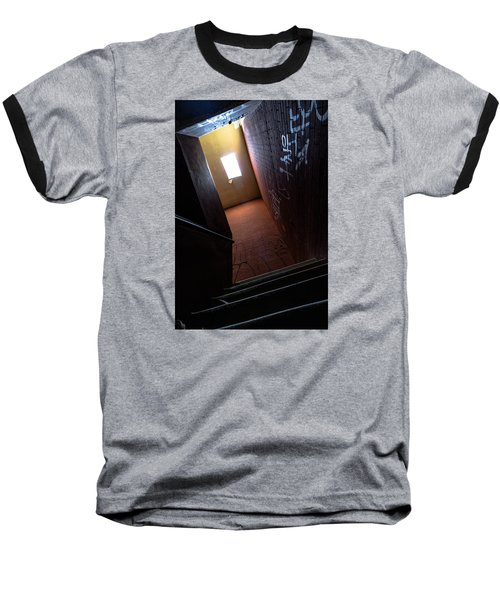 Up The Stairs Baseball T-Shirt
