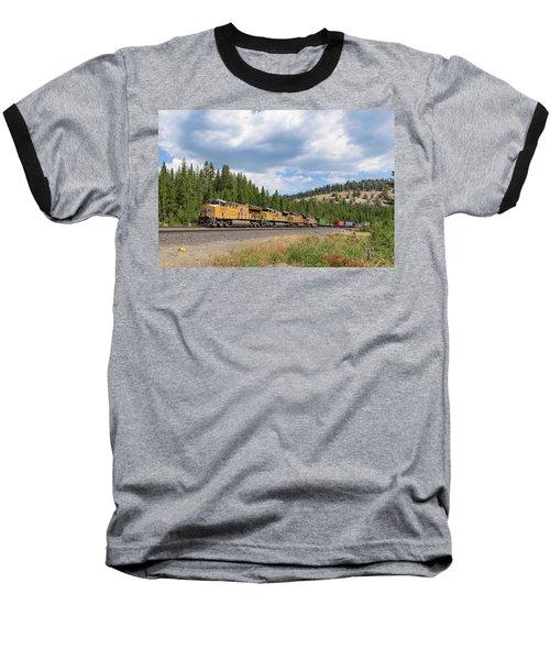 Up2650 Westbound From Donner Pass Baseball T-Shirt