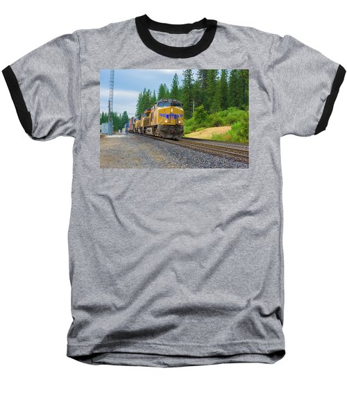 Baseball T-Shirt featuring the photograph Up5698 by Jim Thompson