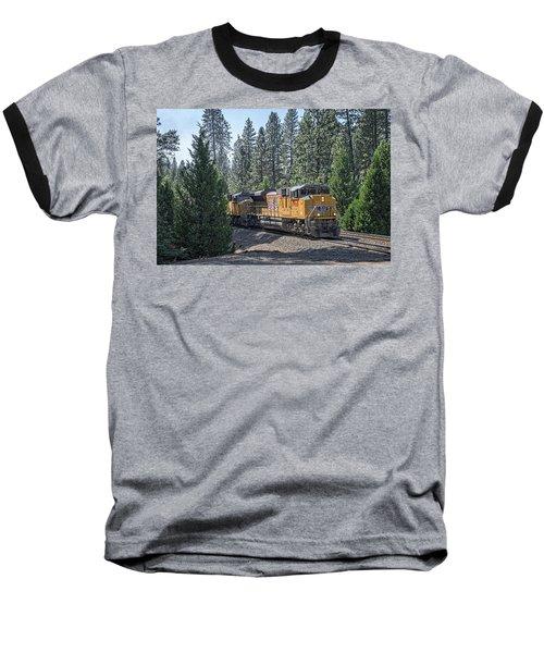Up8968 Baseball T-Shirt by Jim Thompson