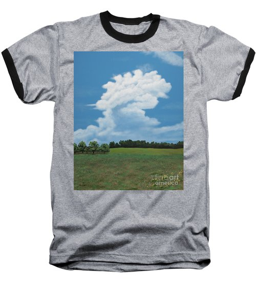 Updraft Baseball T-Shirt by Billinda Brandli DeVillez