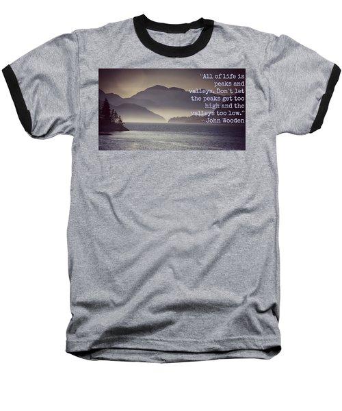 Uplifting244 Baseball T-Shirt by David Norman