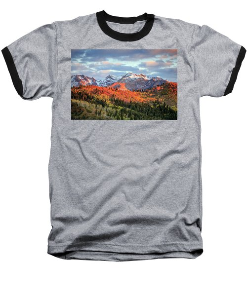 Upper American Fork Canyon Baseball T-Shirt