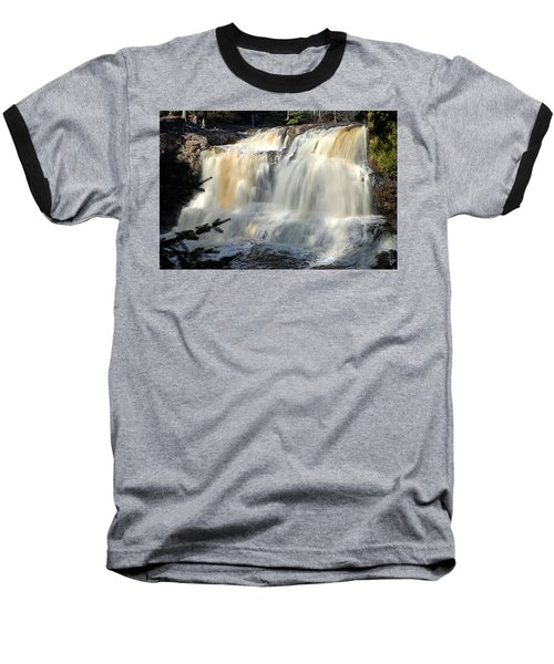 Upper Falls Gooseberry River Baseball T-Shirt