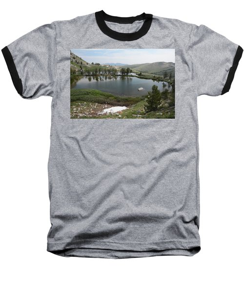 Baseball T-Shirt featuring the photograph Upper Hidden Lake by Jenessa Rahn