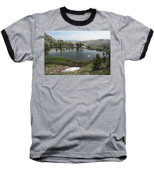 Upper Hidden Lake Baseball T-Shirt