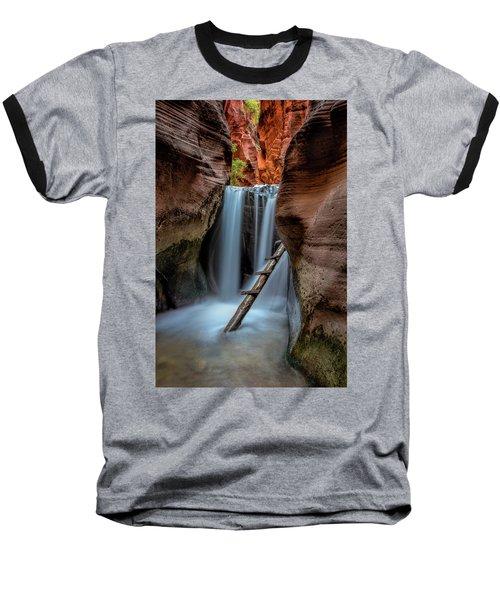 Upper Kanarraville Falls Baseball T-Shirt