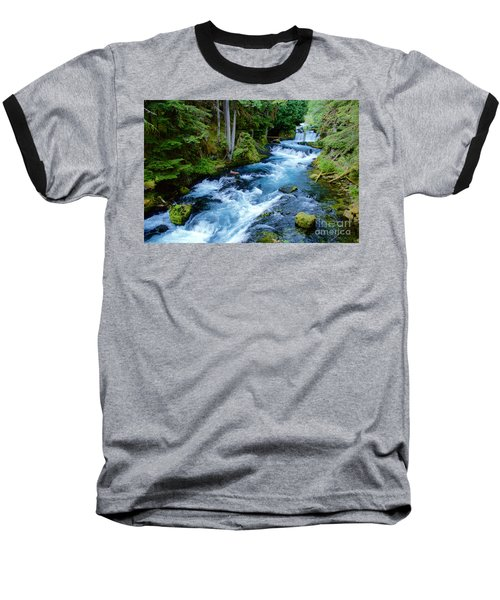 Upper Mckenzie Baseball T-Shirt by Sean Griffin