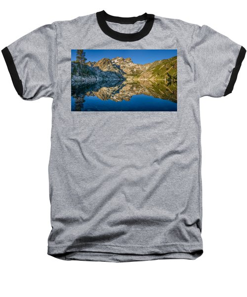 Upper Sardine Lake Panorama Baseball T-Shirt