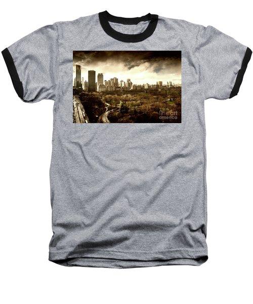 Upper West Side Of New York City Baseball T-Shirt