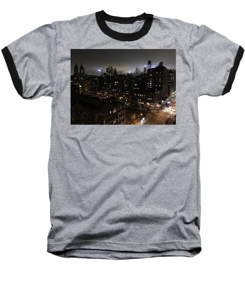 Upper West Side Baseball T-Shirt by JoAnn Lense