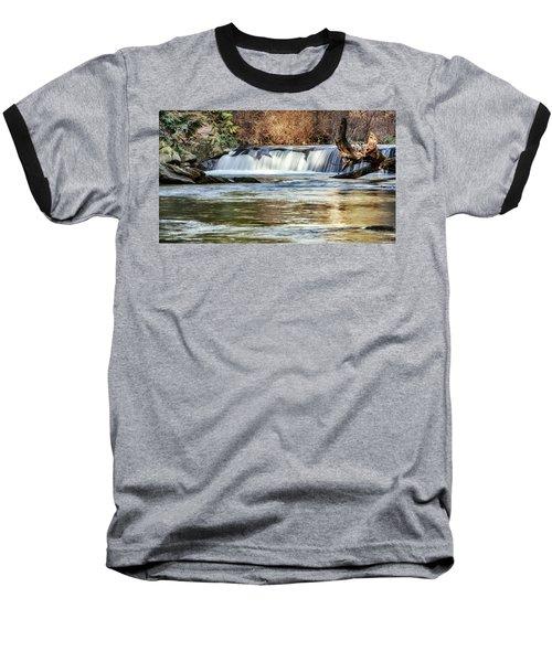 Upper Whatcom Falls Baseball T-Shirt