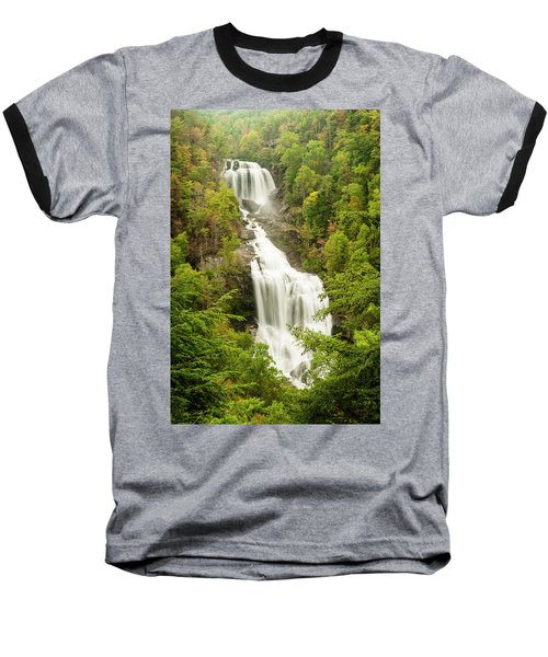 Upper Whitewater Falls Baseball T-Shirt