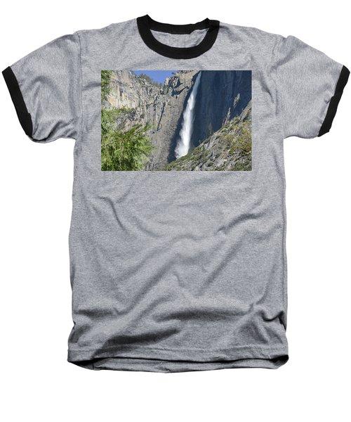 Upper Yosemite Falls Baseball T-Shirt