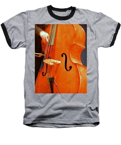 Upright Bass 3 Baseball T-Shirt