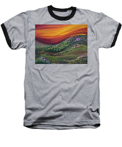 Ups And Downs Baseball T-Shirt by Ashley Price