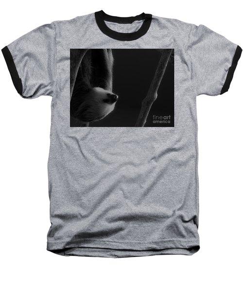 Upside Down Sloth Baseball T-Shirt