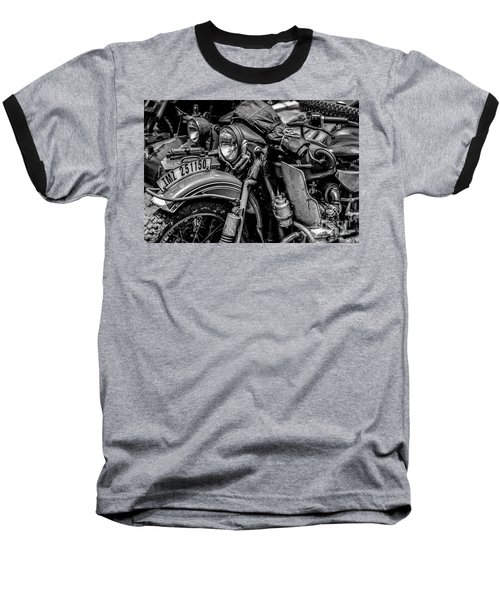 Ural Patrol Bike Baseball T-Shirt