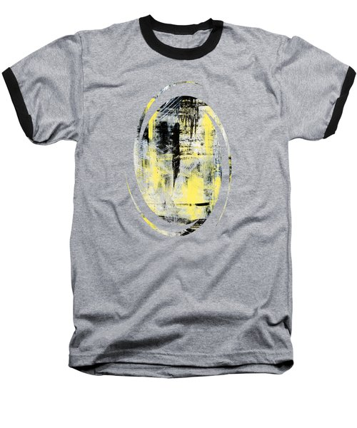 Urban Abstract Baseball T-Shirt by Christina Rollo