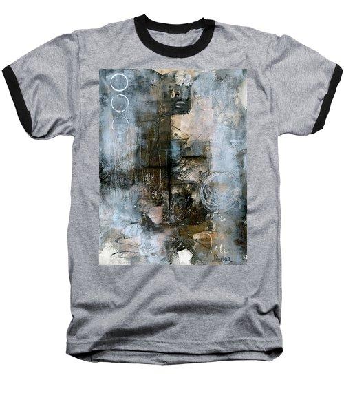 Urban Abstract Cool Tones Baseball T-Shirt