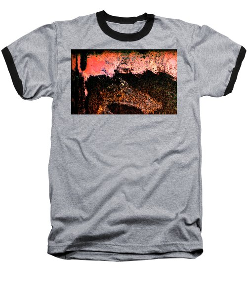 Urban Abstract Baseball T-Shirt by Jerry Sodorff