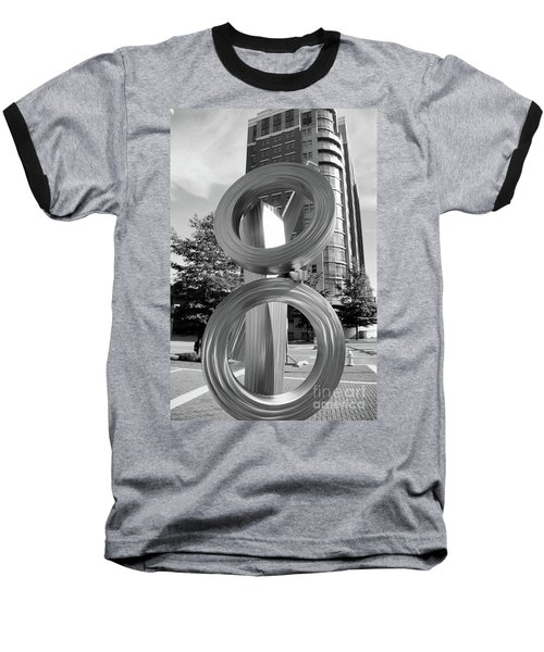 Urban Abstract  Baseball T-Shirt