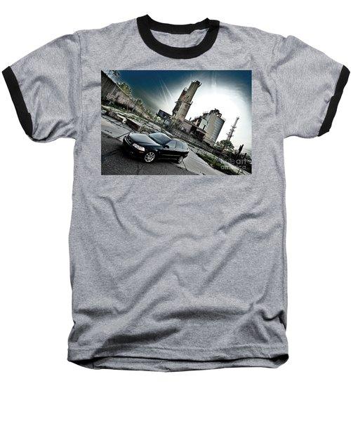 Urban Background Baseball T-Shirt