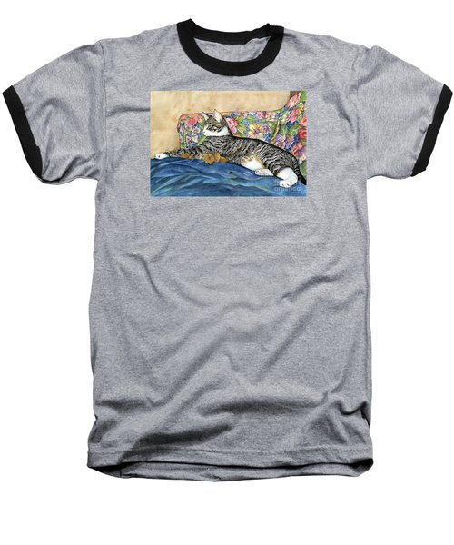 Urban Jungle Baseball T-Shirt by Shari Nees