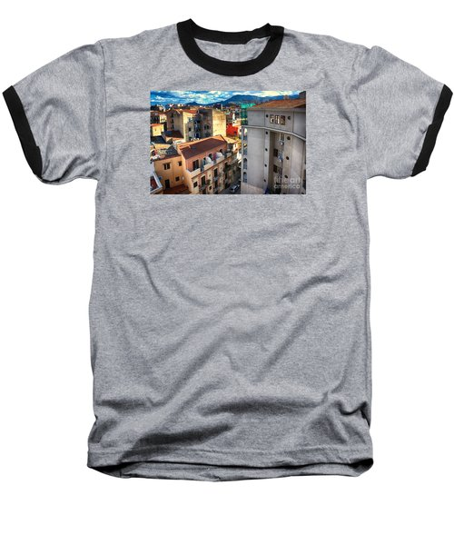 Urban Landscape In Palermo Baseball T-Shirt