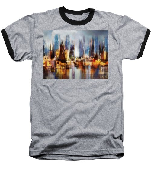 Urban Morning II Baseball T-Shirt