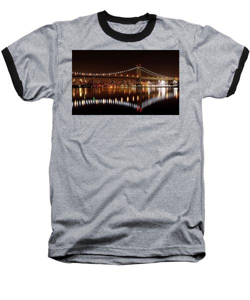 Triboro Bridge Brilliance Baseball T-Shirt