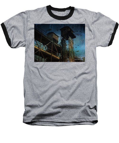 Baseball T-Shirt featuring the photograph Urban Past by Ivana Westin